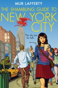 The Shambling Guide to New York City by Mur Lafferty (art by Jamie McKelvie)