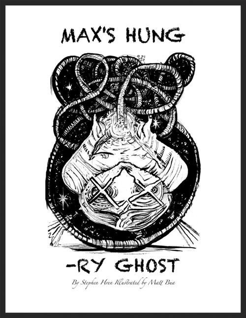 Max's Hungry Ghost Cover