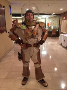 Buzz Lightyear in Mark I Space Ranger Powersuit