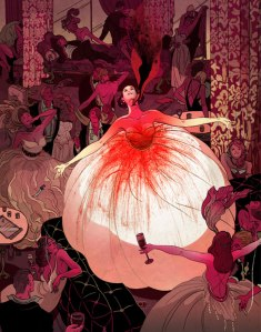 The End of the End of Everything DALE BAILEY illustration by VICTO NGAI (Tor.com)