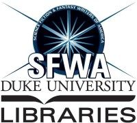 "September 17 (Thursday) 4 pm -- Duke University Libraries hosts the SFWA Southeast Reading Series for a discussion of ""Storytelling and Migration"" with authors Gail Z. Martin, Alyssa Wong, Ursula Vernon, Delilah Dawson, and Monica Byrne, at the FHI Garage at Duke University's Smith Warehouse."
