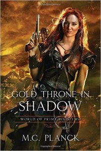 gold throne in shadow cover